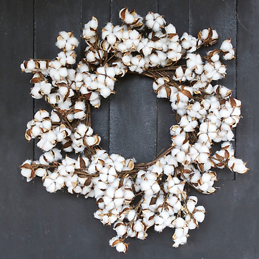 Wild Cotton Wreath