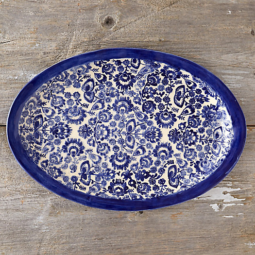 Scandinavian Meadow Serving Platter