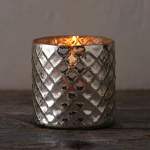 Lattice Mercury Votive Holder