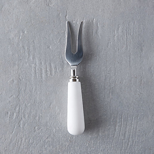 Marble Handle Cheese Fork