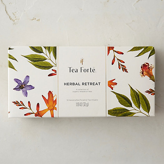 Tea Forte Herbal Retreat Tea Collection