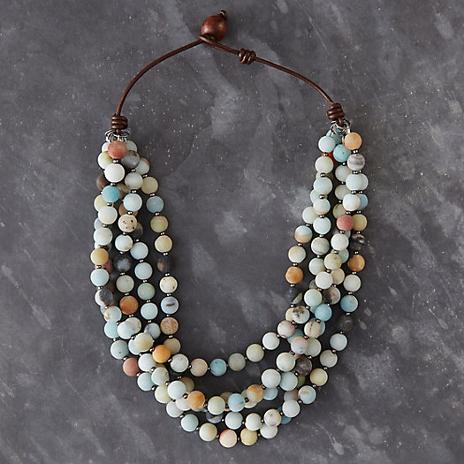 Amazonite Layers Necklace