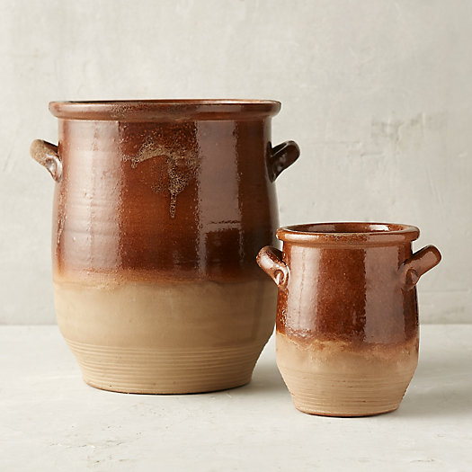 Dip Dye Terracotta Pot