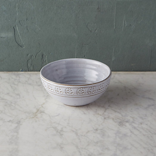 Embossed Terracotta Cereal Bowl