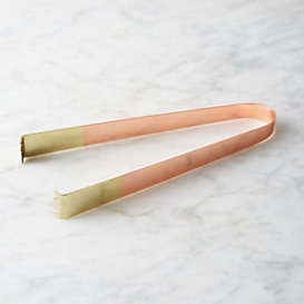 Copper & Brass Ice Tongs
