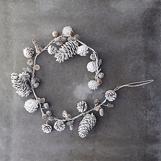 Winter Forest Pinecone Garland