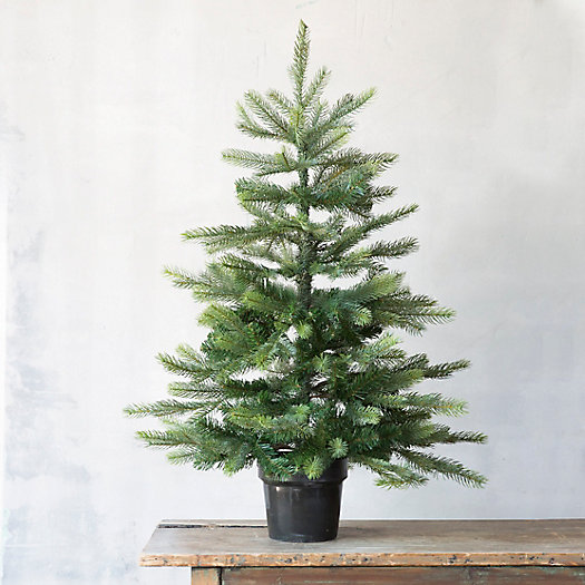 Faux Grand Fir Tree