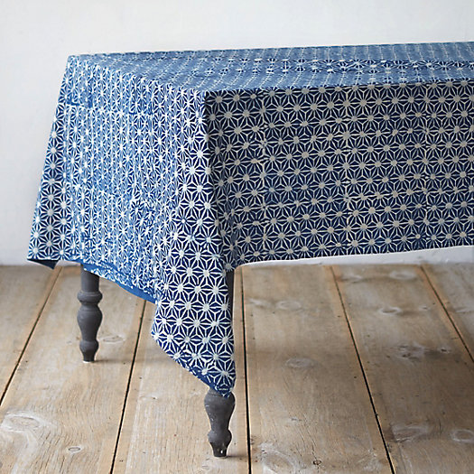 Indigo Prism Tablecloth