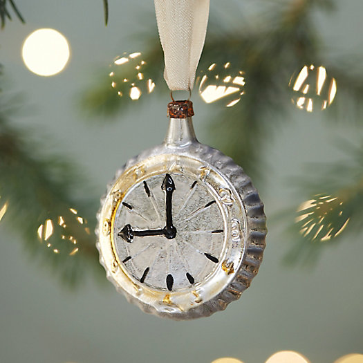Pocket Watch Glass Ornament