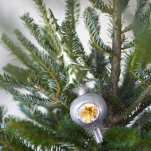 Tannenbuam Glass Tree Topper