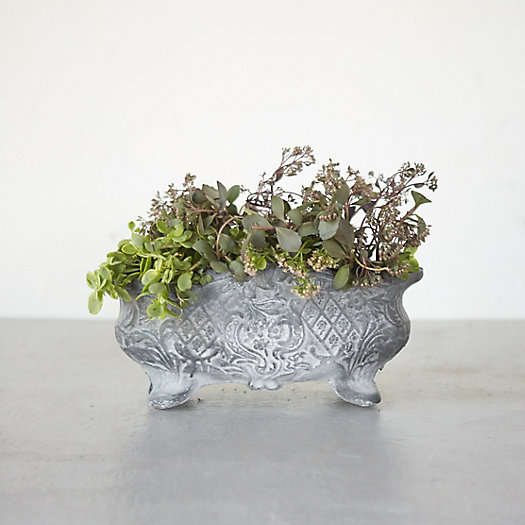 Cast Iron Centerpiece Planter