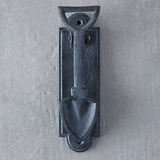 Iron Spade Door Knocker