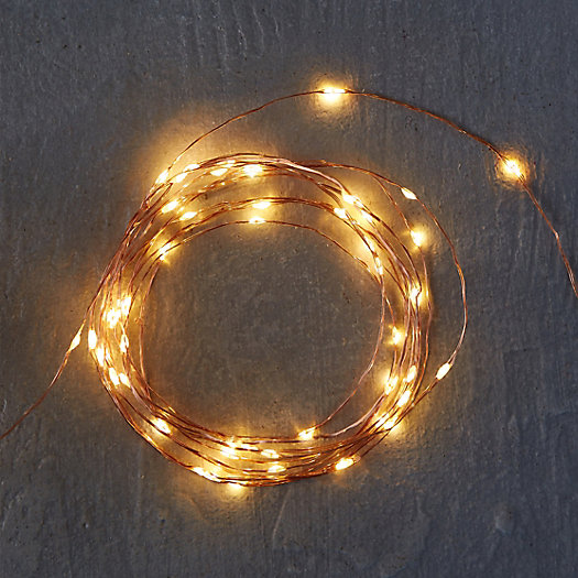 Stargazer Copper Twine Lights 50' Plug-In