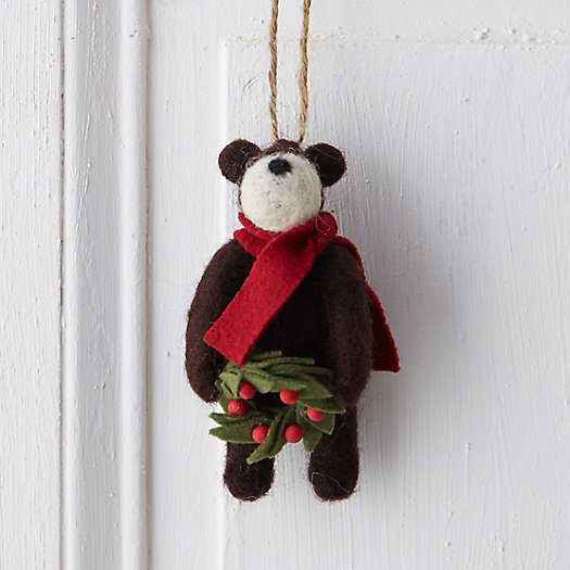 Woolly Bear Ornament