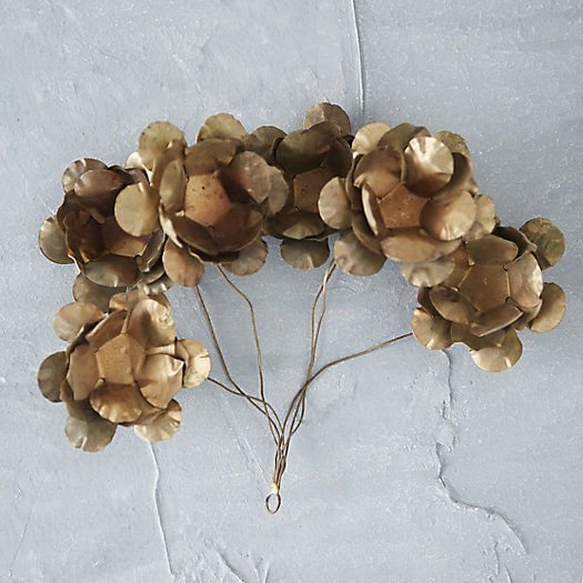 Golden Petals Ornament