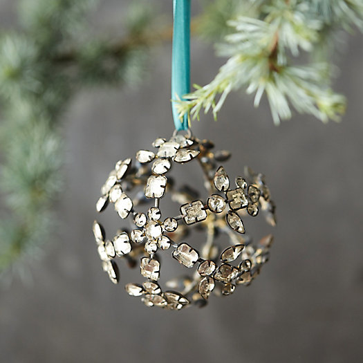 Jeweled Sphere Ornament