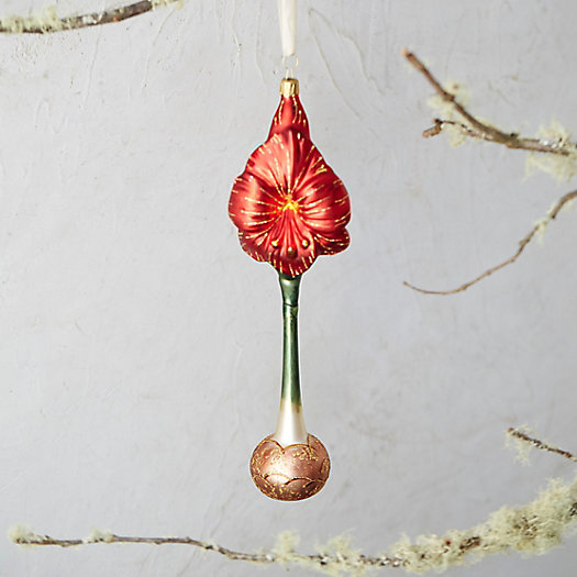 Amaryllis Bloom Ornament