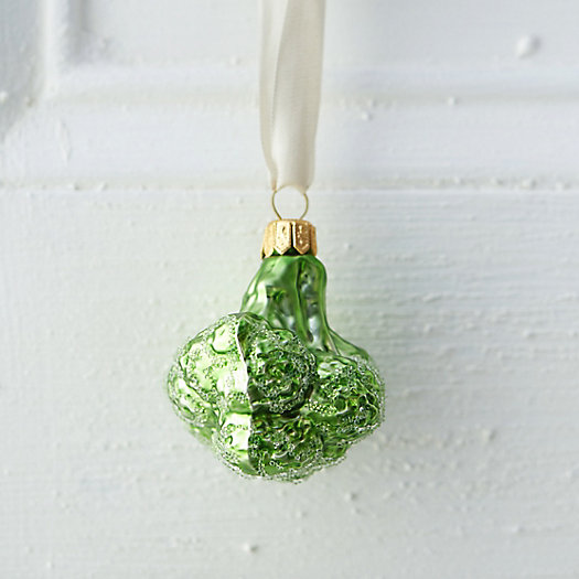 Glass Garden Broccoli Ornament