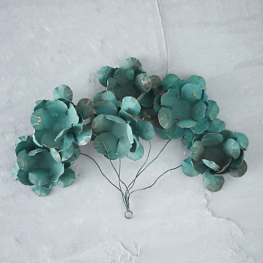Copper Bouquet Ornament