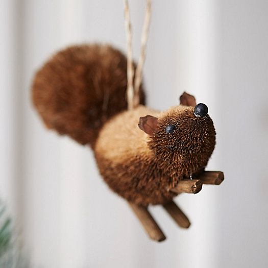 Brushy Skunk Ornament