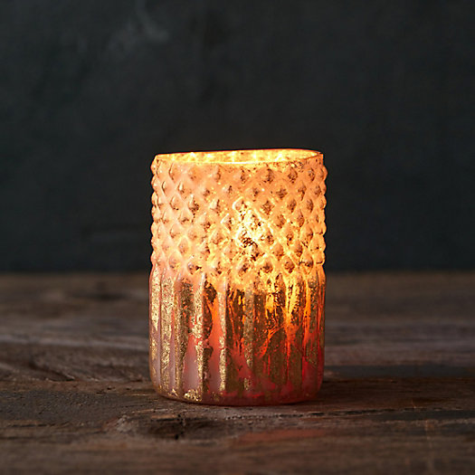 Foiled Layers Votive Holder