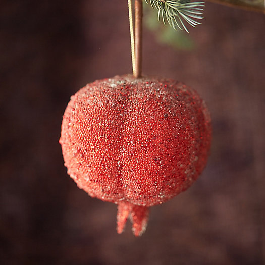 Beaded Pomegranate Ornament