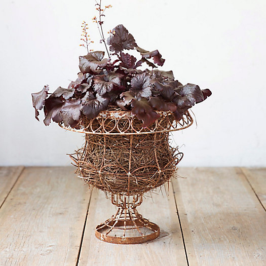 Weathered Wire Urn