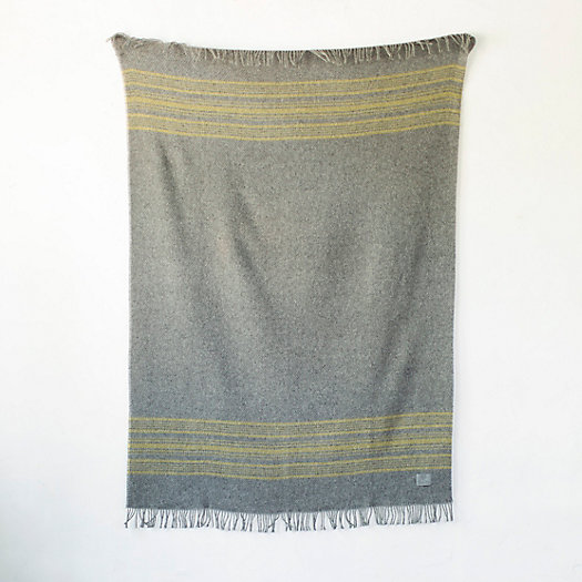 Sun Stripe Wool Throw