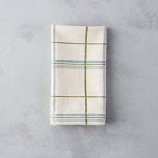 Windowpane Cotton Napkin
