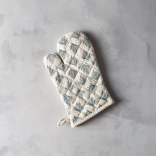 Cotton Fir Oven Mitt