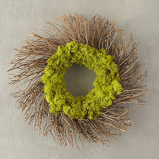 Reindeer Moss & Twig Wreath