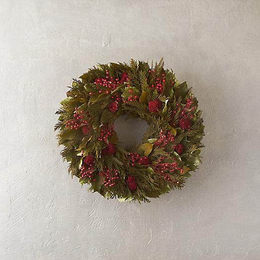 Cedar & Yarrow Wreath
