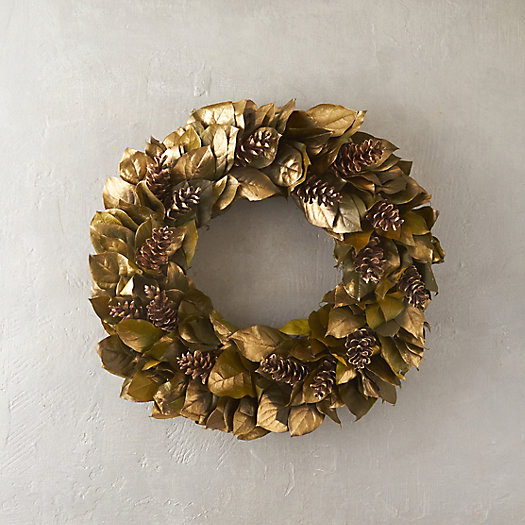 Golden Forest Wreath