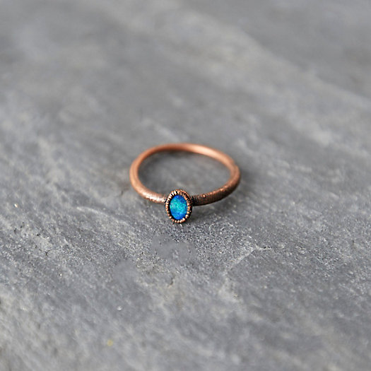 Cabochon Opal Ring
