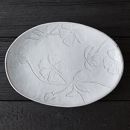 Pressed Meadow Serving Platter