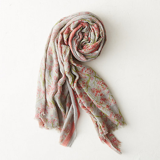 Scattered Blooms Scarf