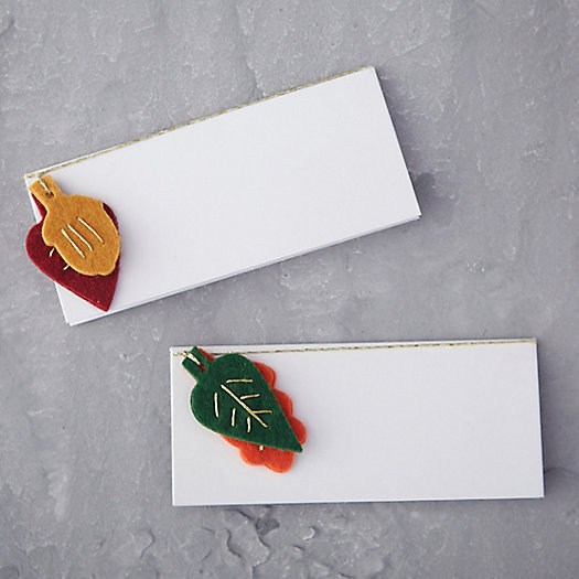 Falling Leaf Place Cards