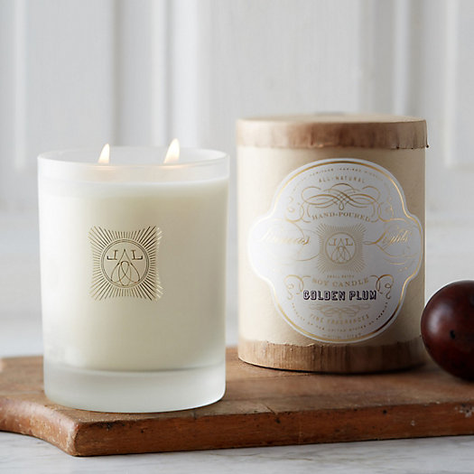 Linnea's Lights Candle, Golden Plum