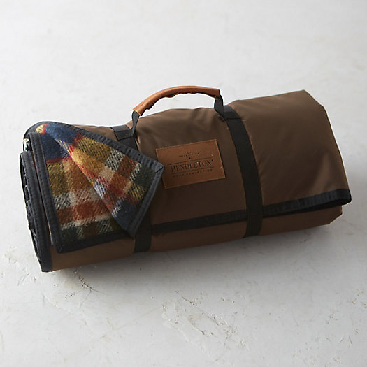 Pendleton Wool Roll-Up Camp Blanket