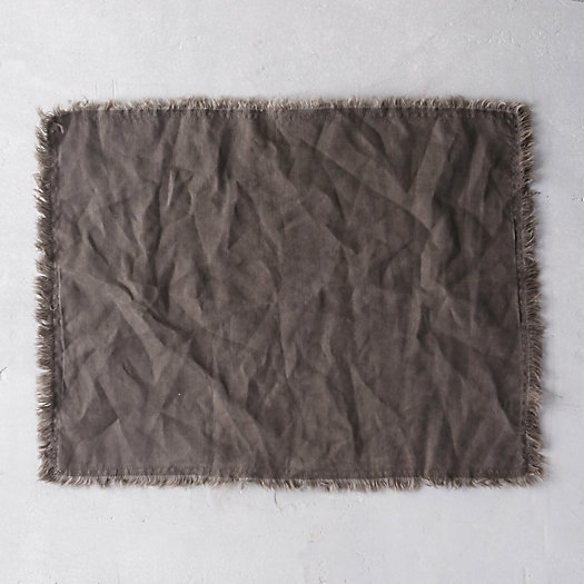 Well-Wrinkled Linen Placemat