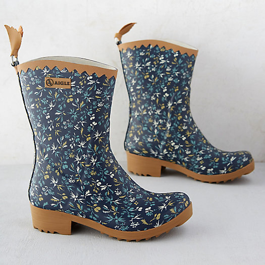 Ankle Garden Boots