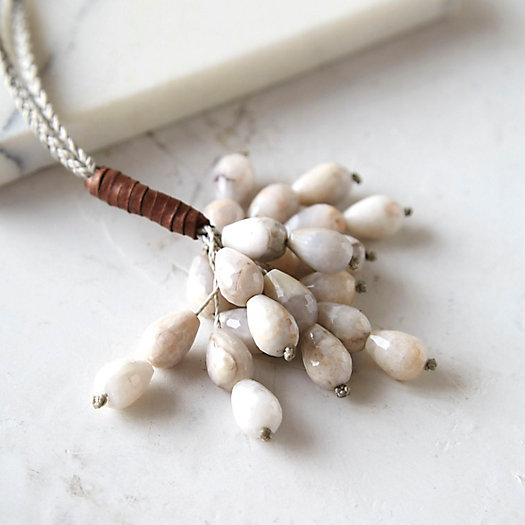Feldspar Cascade Necklace