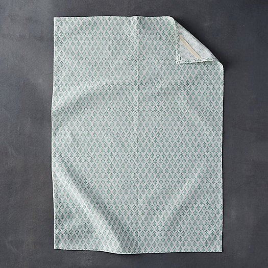 Mint Leaves Cotton Tea Towel