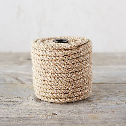 Metallic Jute Twist Ribbon