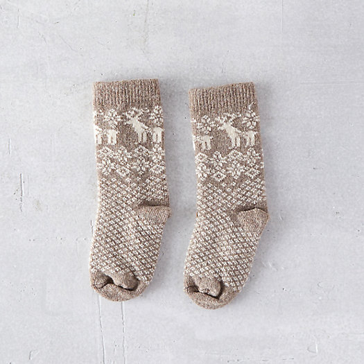 Toddler Reindeer Socks