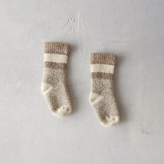 Baby Bird's Eye Socks