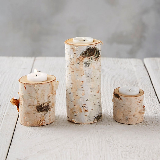 Winter Woods Tea Light Holder