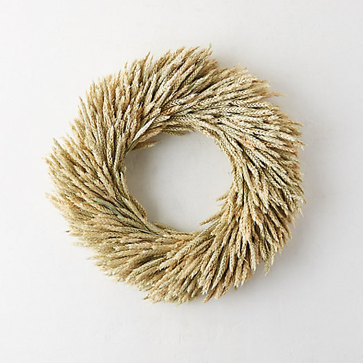 Dried Rye Wreath