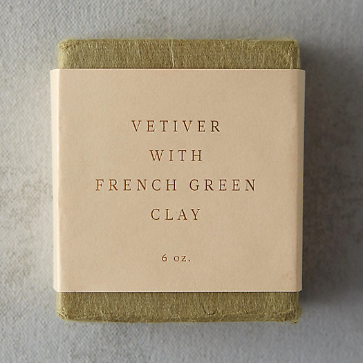 Saipua Vetiver & French Green Clay Soap