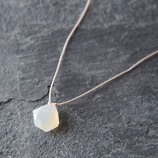 Frothy Quartz Nugget Necklace